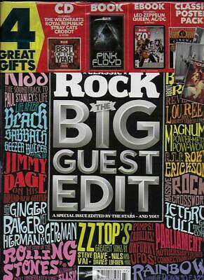 CLASSIC ROCK Mag-Summer'19 (Guest Edit)NEW Post included to UK/Europe/USA/Canada