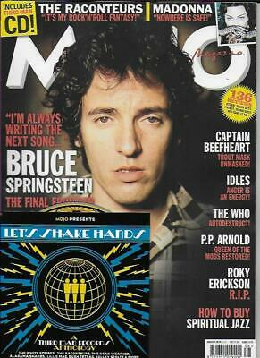 MOJO MAGAZINE-Aug'19-Springsteen (NEW) *Post included to UK/Europe/USA/Canada
