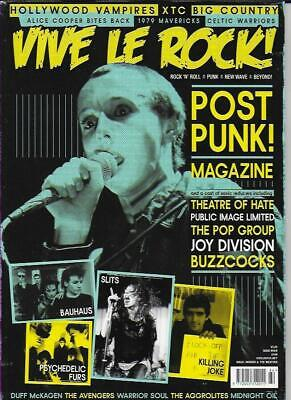 VIVE LE ROCK MAGAZINE -ISSUE 64 (NEW)*Post included to UK/Europe/USA/Canada