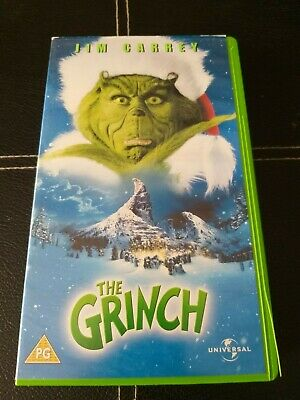 The Grinch VHS Tape