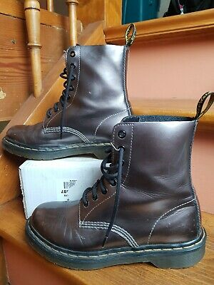 Original Jeans Rose Boots 36 Chaussures Kickers Bottines Cuir ED29IH