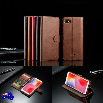 For Xiaomi Redmi Note 7 6 5 Pro 4A 4X 5A Magnetic Flip Leather Wallet Case Cover