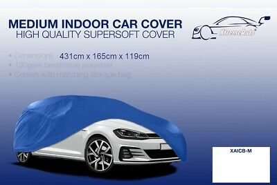 Medium blue Indoor Car Cover Protector Mercedes-Benz A-Class 1997-2016