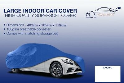Large blue Indoor Car Cover Protector Mercedes-Benz GLA-Class 2013-2016