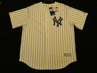 new arrival 123c6 93cde OFFICIAL NEW YORK Yankees 2018 Stars & Stripes July 4th Jersey XL