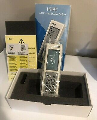 i-STAT Portable Clinical Analyzer Handheld 06F16-02 UNIT LCD (210003)