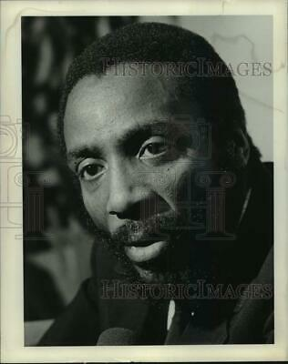 1970 Press Photo Comedian and Social Rights Activist Dick Gregory - syp11514