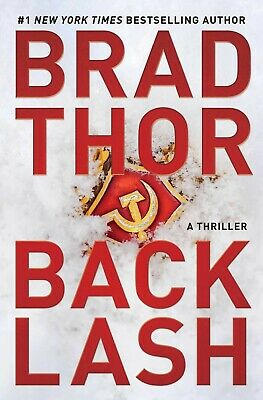 Backlash Brad Thor  1982104031A Thriller (19) The Scot Harvath Series HARDCOVER