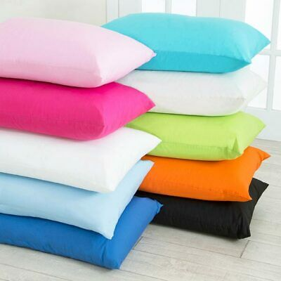 2x Pillow Case Luxury 100% Egyptian Cotton Percale Hotel Quality Pillow Cover