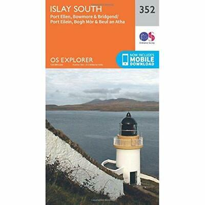 OS Explorer Map (352) Islay South - Map NEW Ordnance Survey 2015-09-16