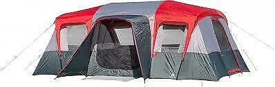 Ozark Trail 16-Person Cabin Tent -3 Rooms w/ 2 Removal Dividers   New! Free Ship