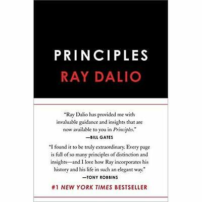 Principles: Life and Work - Hardcover NEW Dalio, Ray 19/09/2017