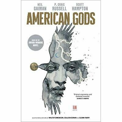 American Gods: Shadows:Adapted for the first time ins - Hardback NEW Gaiman, N