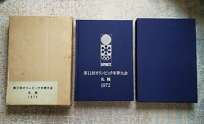 Sapporo Olympic 1972 Official Report Book