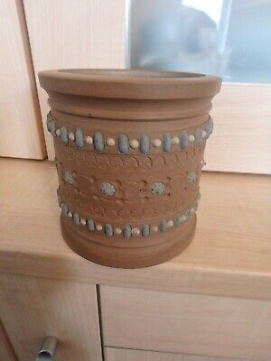 "Royal Doulton ""Lambeth""  Stoneware Beautiful Vintage  Embossed Pot, F.a. Bovill"