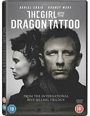The Girl With The Dragon Tattoo [DVD] [2011] By Daniel Craig,Stellan Skarsgår.