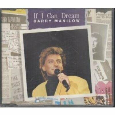 BARRY MANILOW - IF I CAN DREAM  4 TRACK CD SINGLE - BARRY MANILOW CD XAVG The