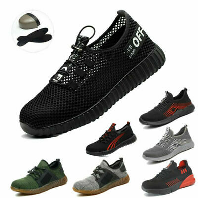 f1b5e78f6c2 LADIES WOMENS ULTRA Lightweight Steel Toe Cap Work Safety Shoes Trainers  Boots