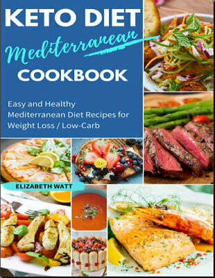 Keto Diet Mediterranean Cookbook – Easy and Healthy  - Eb00k PDF - FAST Deliver