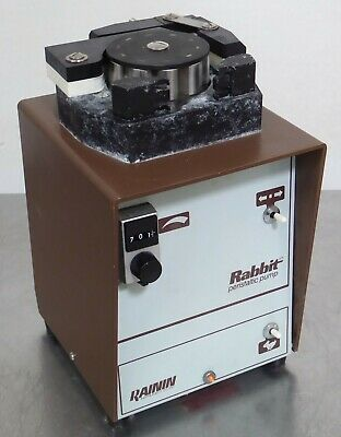 T160463 Rainin Rabbit Minipuls 2 Peristaltic Pump Two Channel