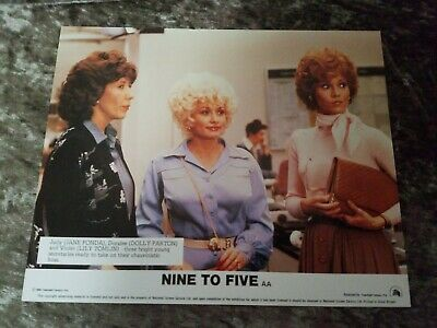 Nine To Five lobby cards  -  Jane Fonda, Dolly Parton, Lily Tomlin