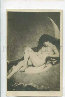 402574 Night WITCH on MOON by FALERO vintage RUSSIA PC