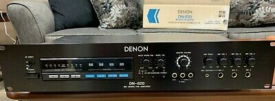 Denon DN-820 Karaoke mic mixer pre amp w pitch and echo RACK MOUNT  NEW IN BOX