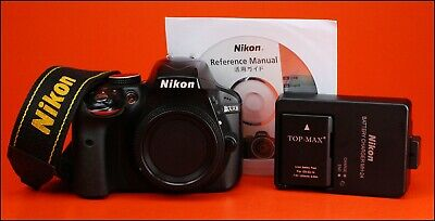 Nikon D3300 Digital SLR Camera, Sold With Battery, & Charger,