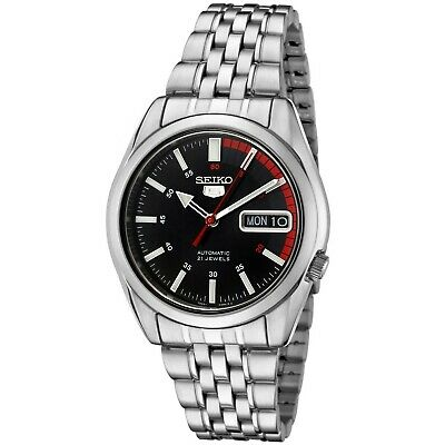 Seiko Men's Automatic Stainless Steel Watch SNK375K