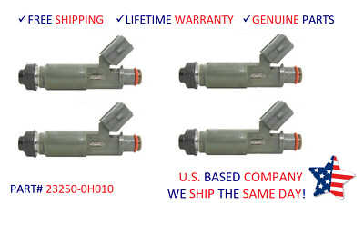 4pcs Fuel Injector 23250-0H010 For Toyota Solara//Camry 2.4L 01-04 flow matched