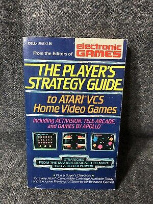 1982 The Player's Strategy Guide to Atari VCS Home Video Games Activision Apollo