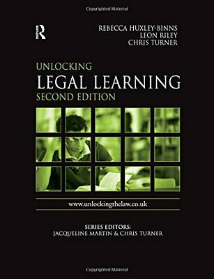 Unlocking Legal Learning (Unlocking the Law) by Riley, Leon Paperback Book The
