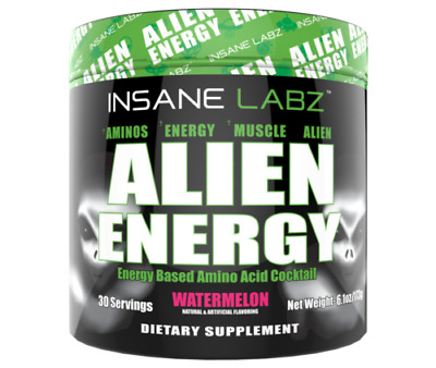 INSANE LABZ | ALIEN ENERGY Amino Acid Cocktail | Watermelon 30 servings