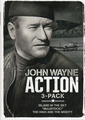John Wayne Action 3-Pack (Island In The Sky / Mclintock! / The High And Th (Dvd)