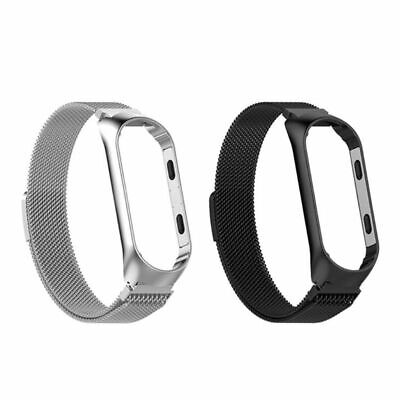 Stainless Steel Watch Band Wristband Strap for Xiaomi Mi Band4Band Milanese Loop