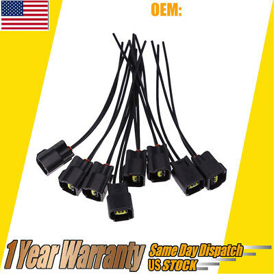 8PCS IGNITION COIL Harness Connector Modular for 1991-2011