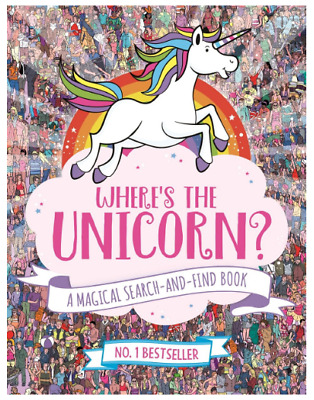 Where's the Unicorn? A Magical Search-and-Find Book by Sophie Schrey Book