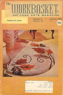 1965 Nine Issues of The Workbasket Magazine Vol. 30 No. 4 To Vol. 31 No. 3