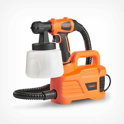 Electric Paint Sprayer Gun 800W Indoor Walls Fast Easy Outdoor Fence Painting