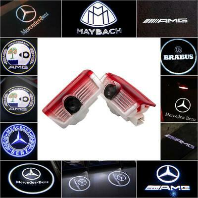 Fit Mercedes Benz Cree LED Projector Car Door Light Courtesy Entry logo light