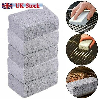 5PCS Grill Brick Pumice Cleaning Stone Griddle Grill Cleaner Stones Top Plate