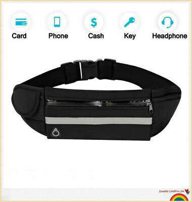 Running Bum Bag Fanny Pack Travel Waist Money Belt Zip Hiking Pouch Wallet