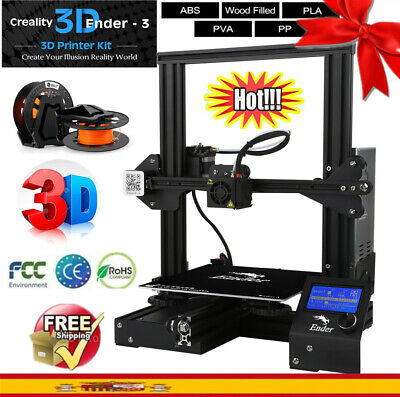 Creality 3D Ender - 3 Impresora 3D Printer DIY Kit 220x220x250mm V-slot Prusa I3
