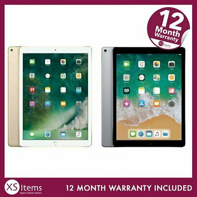 "Apple iPad Pro 2nd Gen 12.9"" A1670/A1671 256/512GB Tablet WiFi/Cellular Gold"