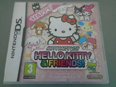 Happy Party with Hello Kitty & Friends  Nintendo DS Lite DSi 3DS  and