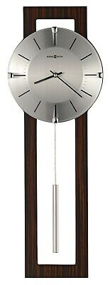 625-694 -Howard Miller- 625694 Mela Wall Clock With Antique Platinum Finish