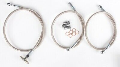 "Streamline 3-Line Brake Line Kit 2/"" Front fits Suzuki LT-R450 QuadRacer 06-09"