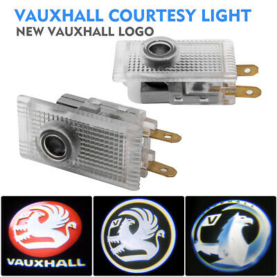 Fit Vauxhall Cree LED Projector Car Door Light Entry Puddle Courtesy LOGO Light