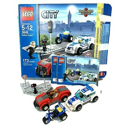 LEGO CITY 7285, Police Dog Unit, Retired, Complete W