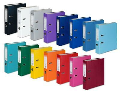 1/5/10 A4 Large 75mm Lever Arch Files Folders Stationery Metal Documents [061]
